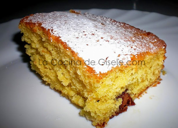 Torta de Naranja y chocolate