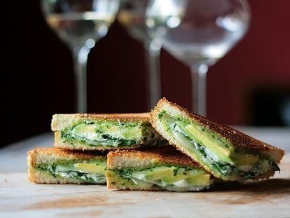 Sandwich de Espinaca y queso