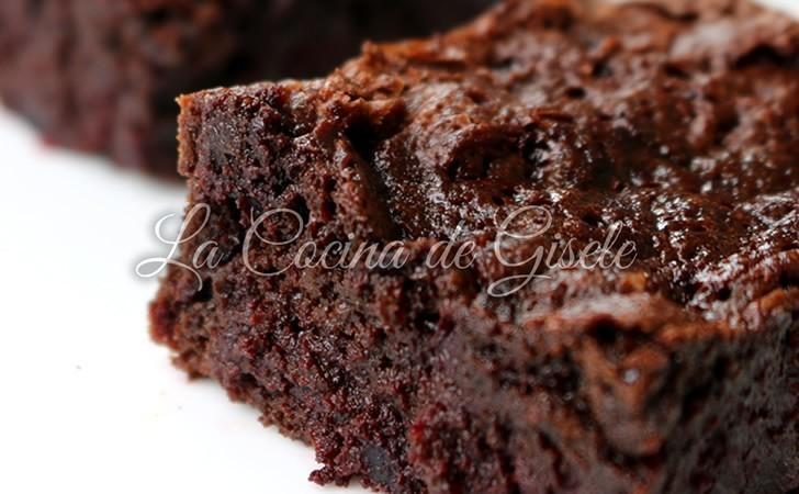 Brownie con remolacha