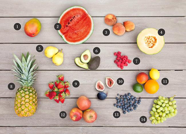 trucos para elegir las frutas