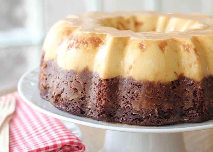 Torta Imposible Chocoflan