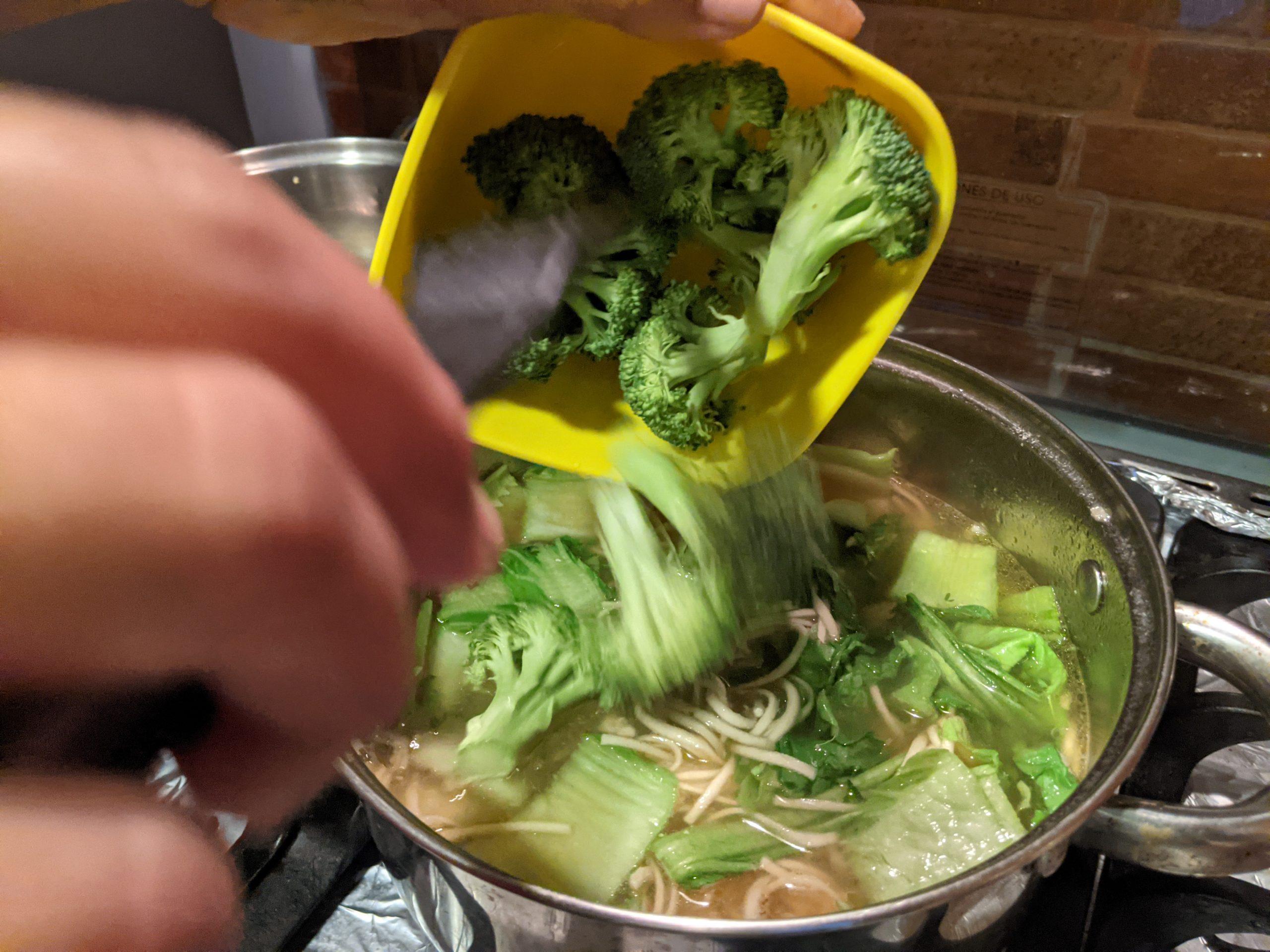 sopa china con nabo
